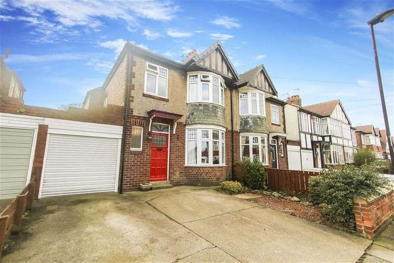 3 Bedrooms Semi Detached House for sale in Westfield Avenue, Whitley Bay, Tyne And Wear