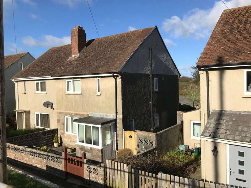 3 Bedrooms Semi Detached House for sale in Jury Lane, Haverfordwest, Pembrokeshire