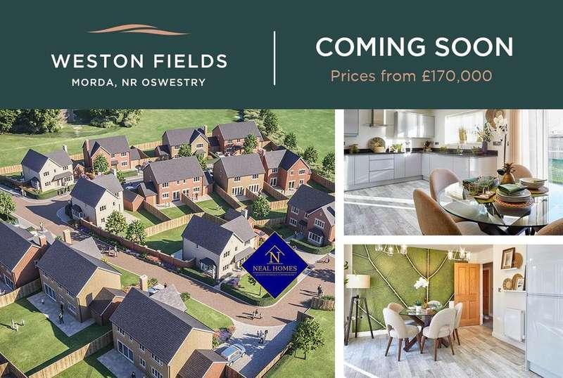 2 Bedrooms Semi Detached House for sale in Weston Fields, Morda, Oswestry