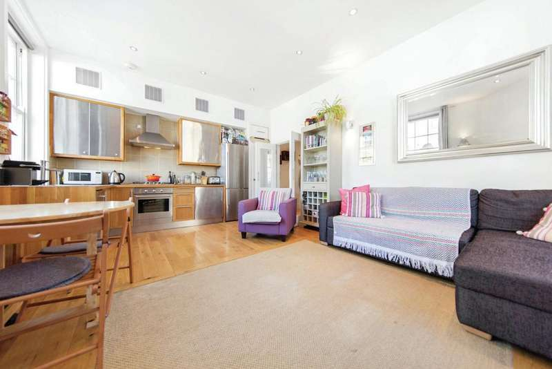 2 Bedrooms Flat for sale in Garfield Road, London