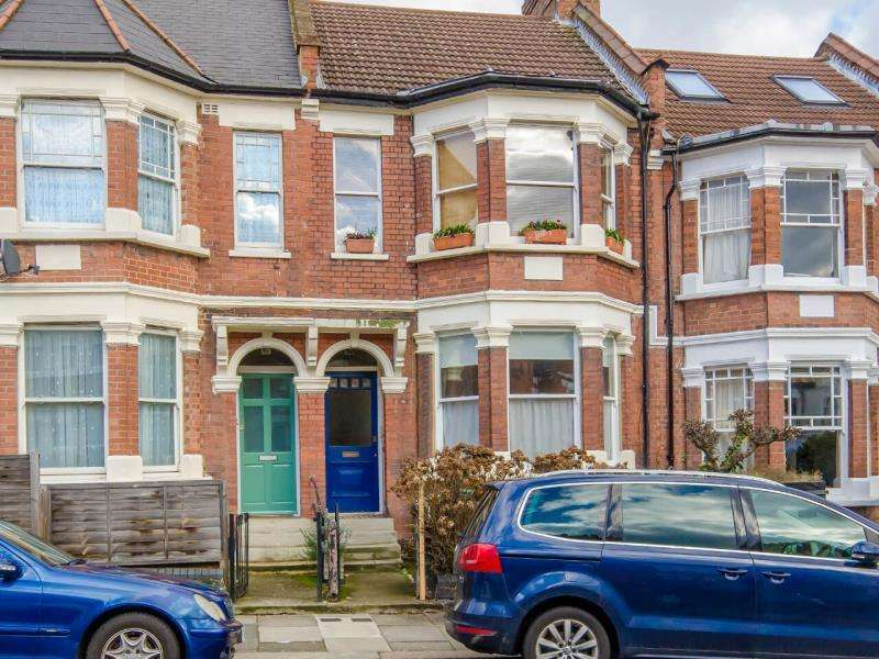 2 Bedrooms Ground Flat for sale in Harvey Road, N8