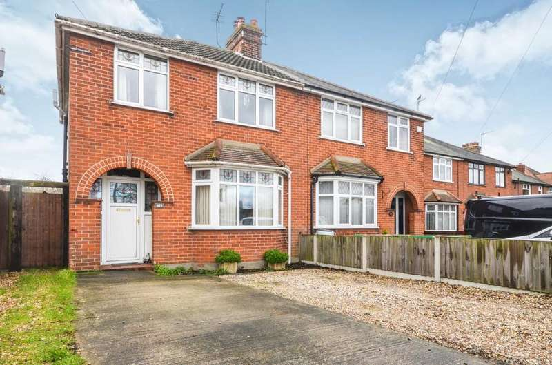 3 Bedrooms Semi Detached House for sale in Ipswich Road, Colchester CO4 0HQ
