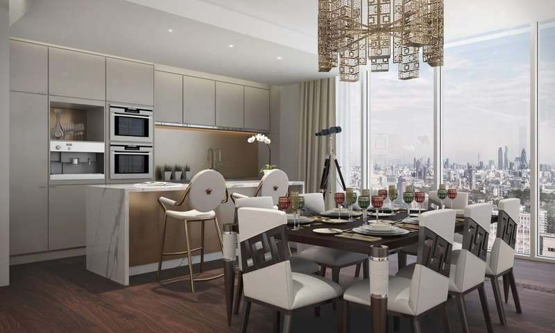 3 Bedrooms Apartment Flat for sale in Aykon London One, Nine Elms, SW8