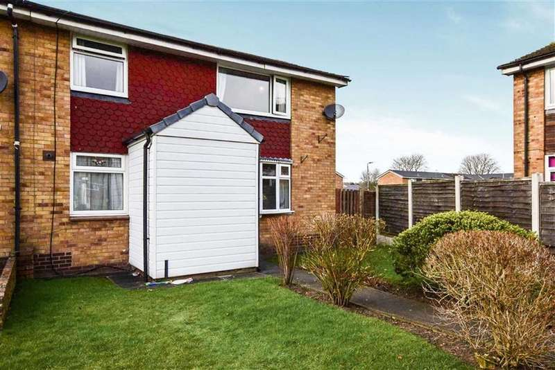 3 Bedrooms End Of Terrace House for sale in Lingfield Avenue, Sale, M33
