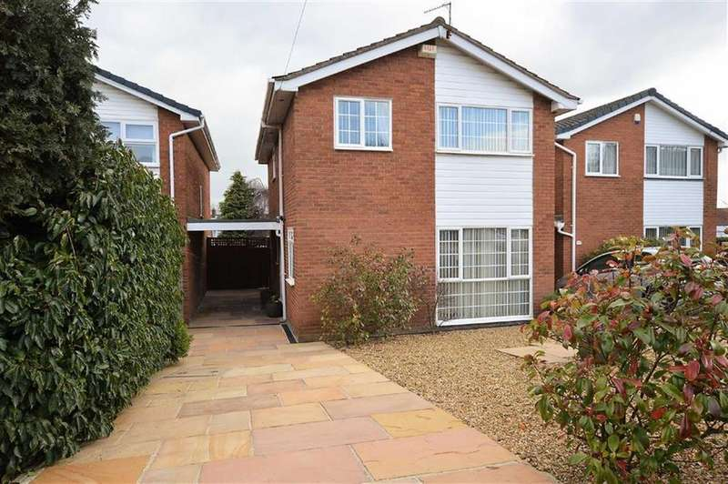 4 Bedrooms Link Detached House for sale in Birch Close, Oxton, CH43