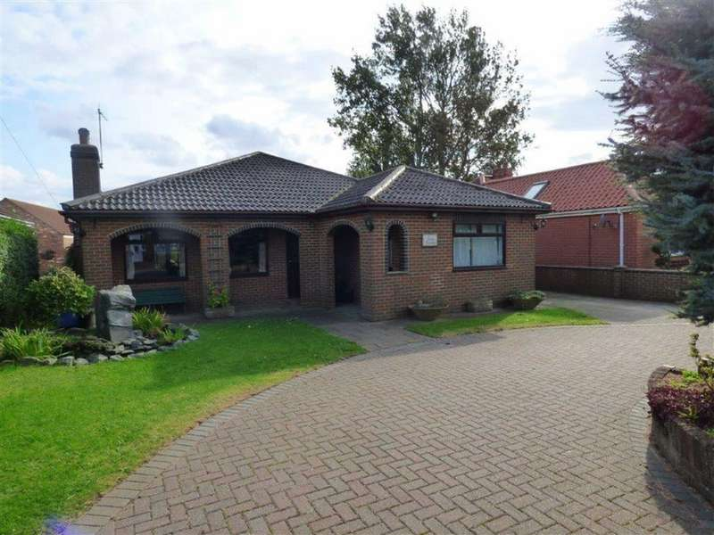 2 Bedrooms Detached Bungalow for rent in Hooks Lane, Thorngumbald, East Yorkshire, HU12
