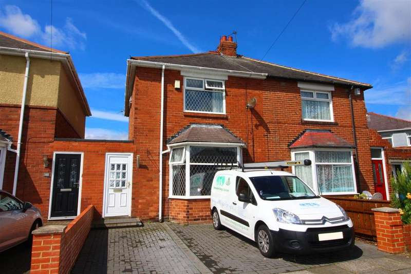 3 Bedrooms Semi Detached House for sale in Brampton Place, North Shields