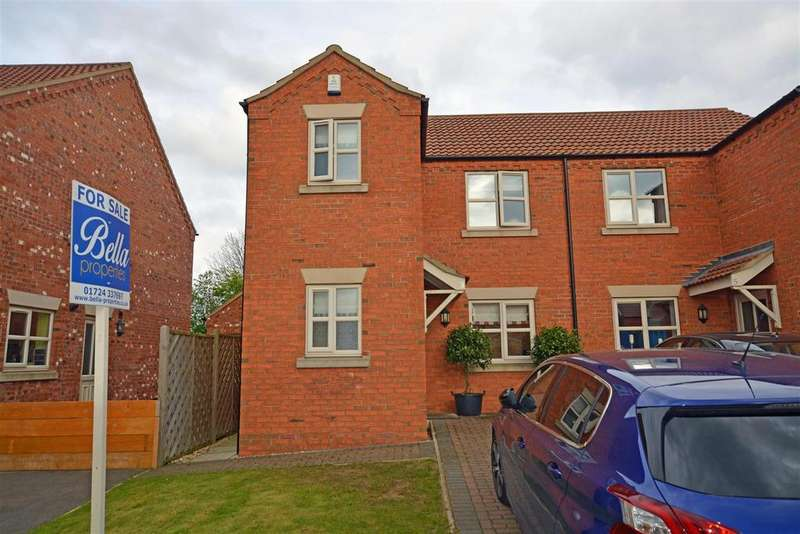 3 Bedrooms Semi Detached House for sale in College Lawns, Broughton, Brigg