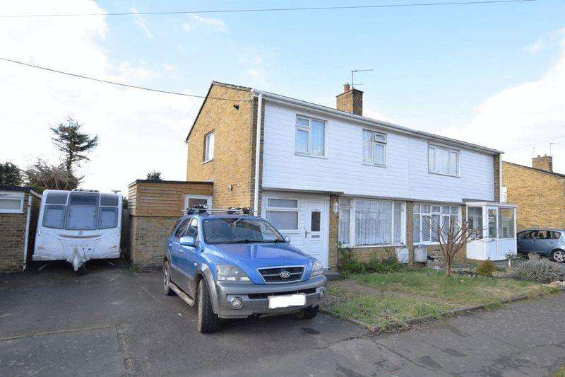3 Bedrooms Semi Detached House for sale in Recreation Close, Maidstone
