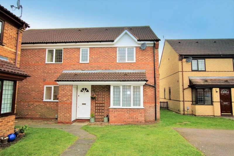 2 Bedrooms Cluster House for sale in The Paddocks, Flitwick, Bedfordshire, MK45 1XF