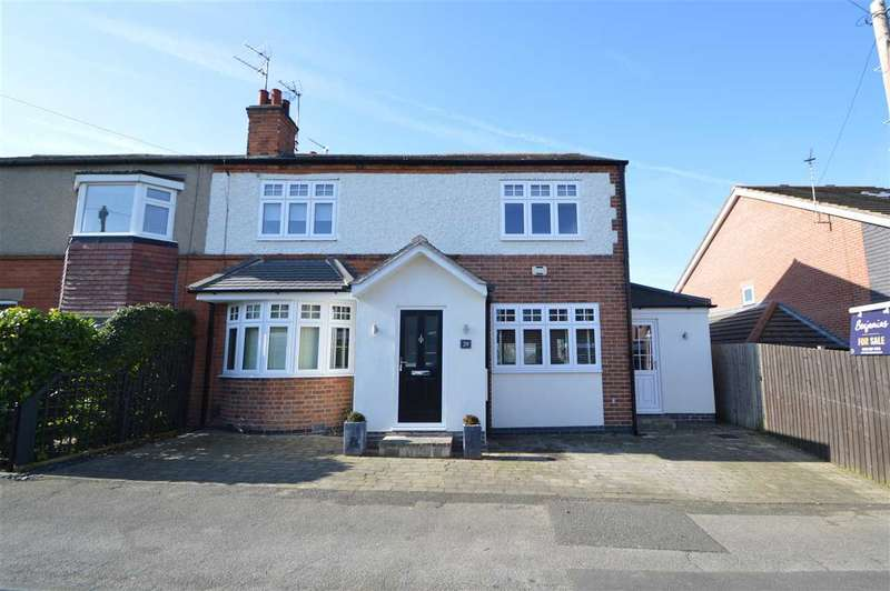 4 Bedrooms Semi Detached House for sale in Dale Road, Keyworth, Nottingham