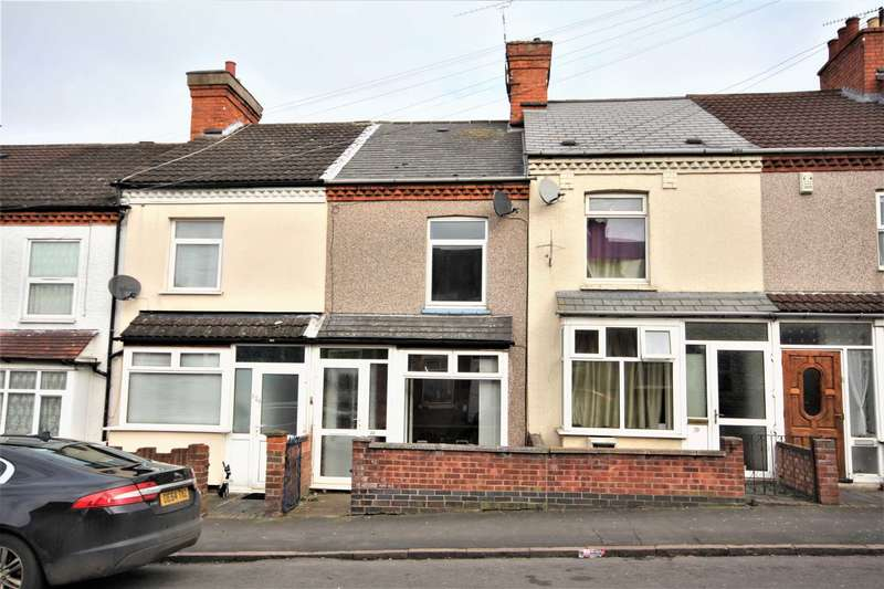 3 Bedrooms Terraced House for sale in Avenue Road, Rugby