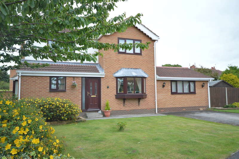 4 Bedrooms Detached House for sale in Lauriston Close, Marton