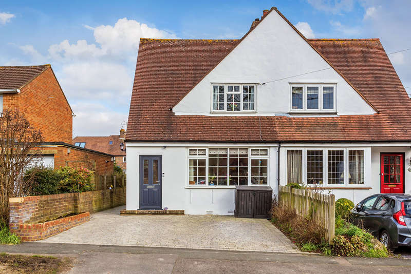 3 Bedrooms Semi Detached House for sale in Chalkpit Lane, Oxted, RH8