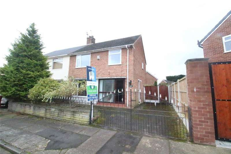 3 Bedrooms Semi Detached House for sale in Hurst Park Drive, Liverpool, Merseyside, L36