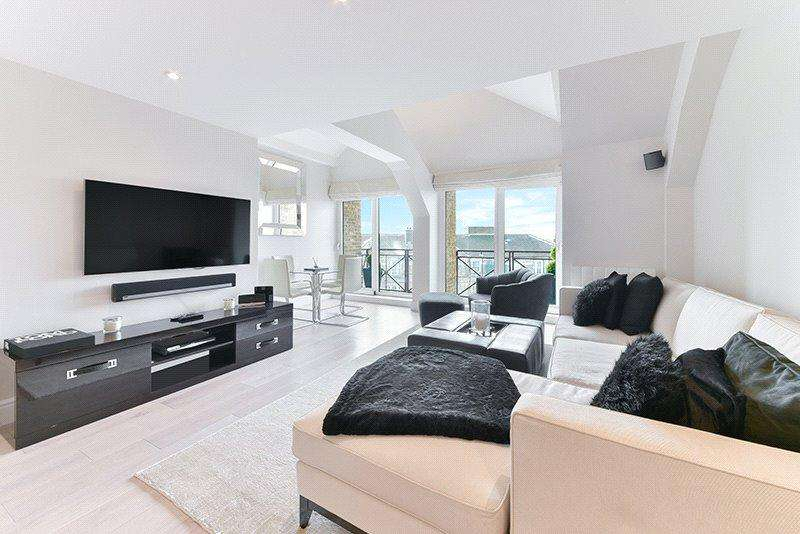 2 Bedrooms Penthouse Flat for sale in Scotts Sufferance Wharf, 5 Mill Street, London, SE1