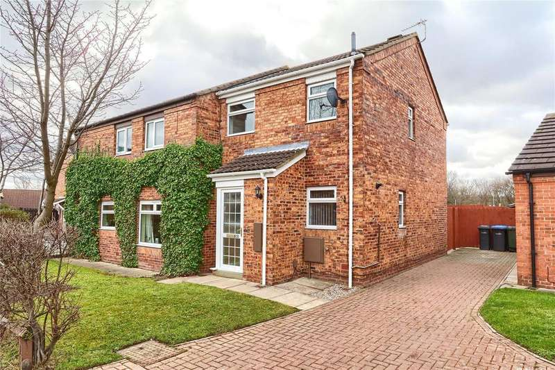 2 Bedrooms Semi Detached House for sale in Hazelbank, Coulby Newham