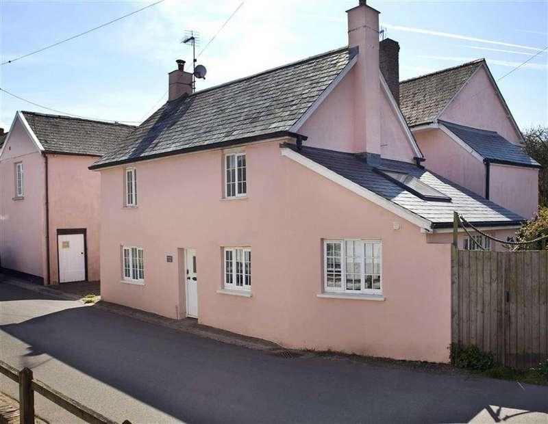 2 Bedrooms Semi Detached House for sale in Cheriton Fitzpaine, Crediton, Devon, EX17