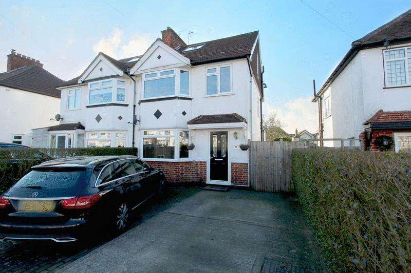 4 Bedrooms Semi Detached House for sale in Spencer Road, Caterham