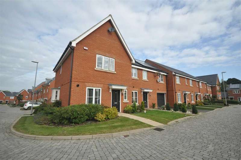 3 Bedrooms End Of Terrace House for sale in Little Highwood Way, Brentwood