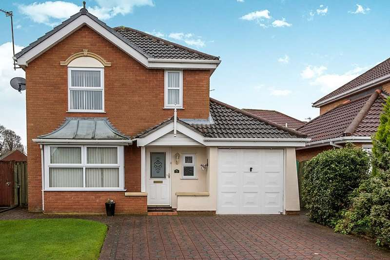 4 Bedrooms Detached House for sale in Farnborough Grove, Halewood, Liverpool, L26
