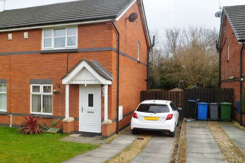 3 Bedrooms Semi Detached House for sale in Moss Valley Road, New Broughton, Wrexham, LL11