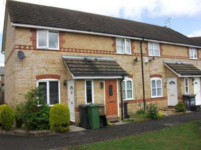 2 Bedrooms Terraced House for sale in Larkspur Gardens, Luton, Bedfordshire