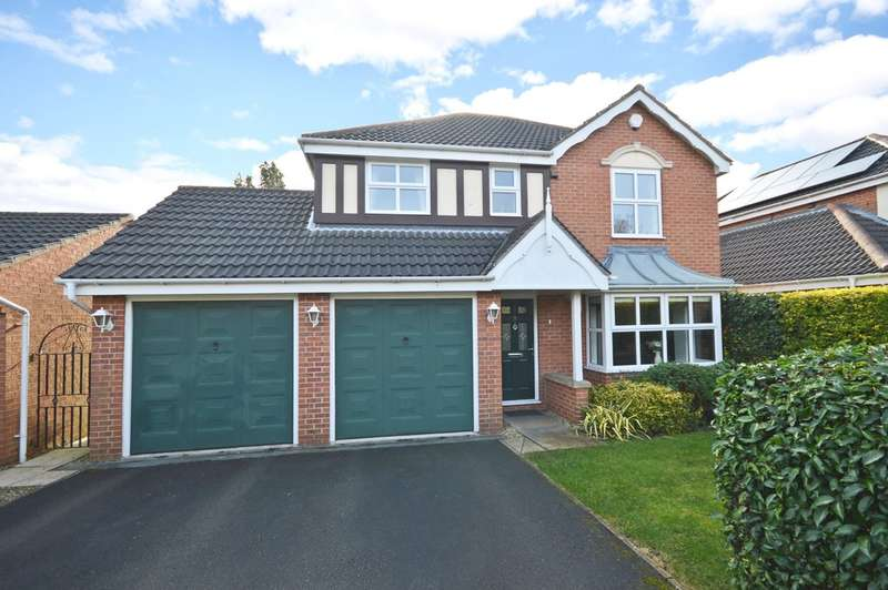 4 Bedrooms Detached House for sale in High Brook Fall, Lofthouse, Wakefield