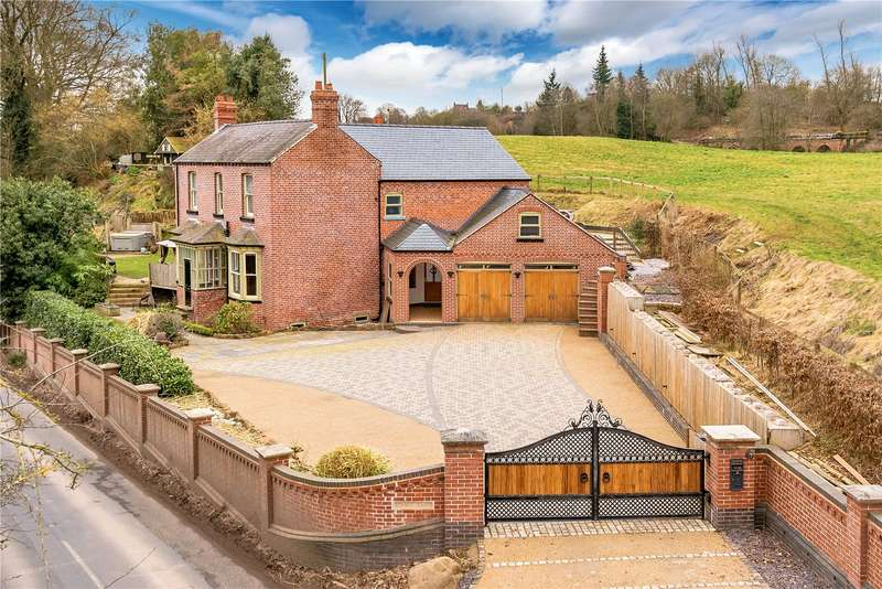5 Bedrooms Detached House for sale in Springholme, Knowle Sands, Bridgnorth, Shropshire, WV16