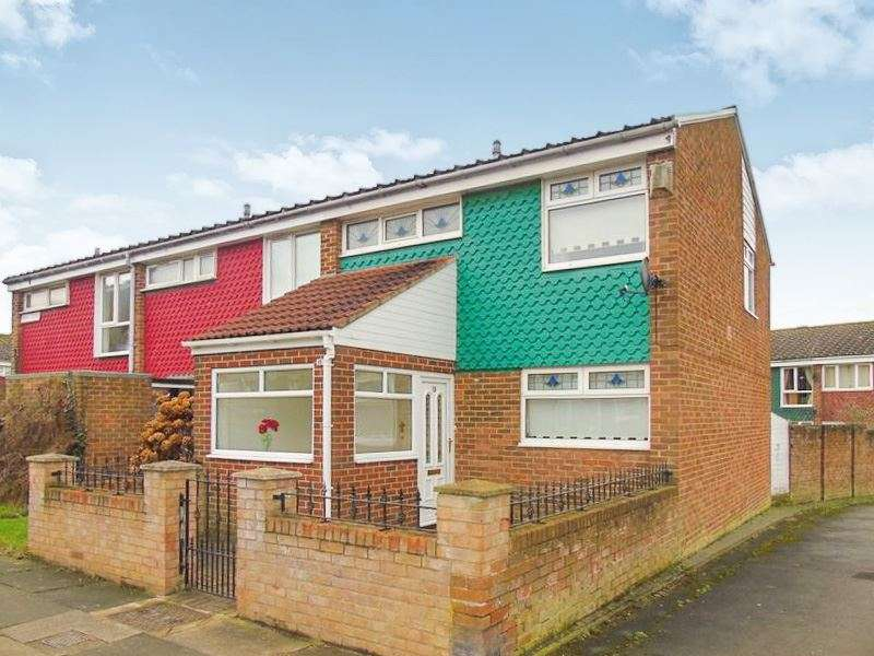 3 Bedrooms Property for sale in Bray Close, Battle Hill, Wallsend, Tyne and Wear, NE28 9RJ