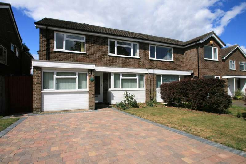 4 Bedrooms Semi Detached House for rent in Byron Avenue, Lexden, Colchester , Essex , CO3 4HG