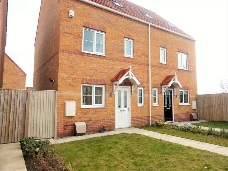 4 Bedrooms Semi Detached House for sale in Thornham Meadows, Goldthorpe, Rotherham, S63 9GL