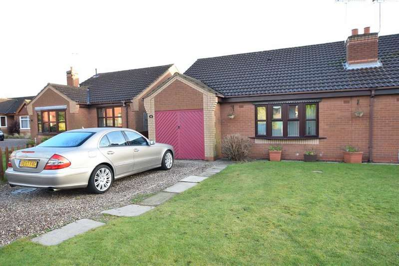 2 Bedrooms Semi Detached House for sale in Badger Way, Broughton, Brigg, DN20 0TW
