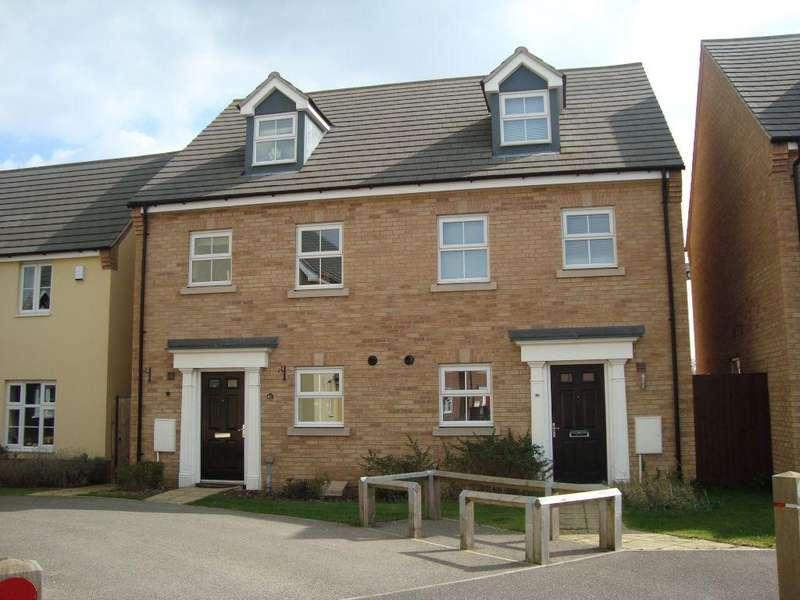 3 Bedrooms Semi Detached House for rent in Sycamore Drive, Bury St Edmunds