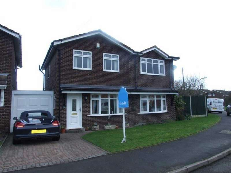 3 Bedrooms Detached House for sale in Gainsborough Drive, Bedworth