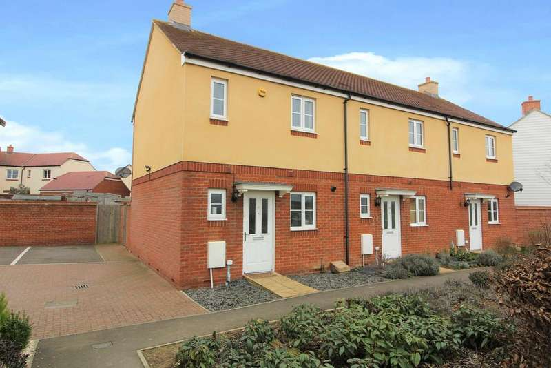2 Bedrooms End Of Terrace House for sale in Damara Way, Ashford, Kent, TN25 7FD