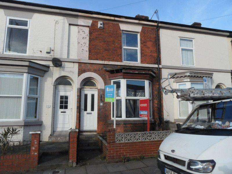 2 Bedrooms Terraced House for sale in 11 Florence Street, Liverpool