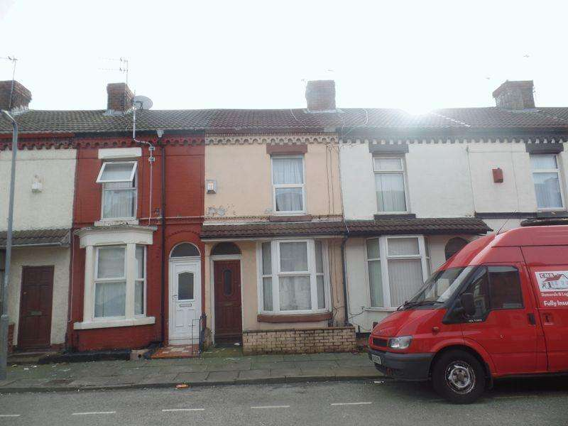 2 Bedrooms Terraced House for sale in 14 Milton Road, Liverpool