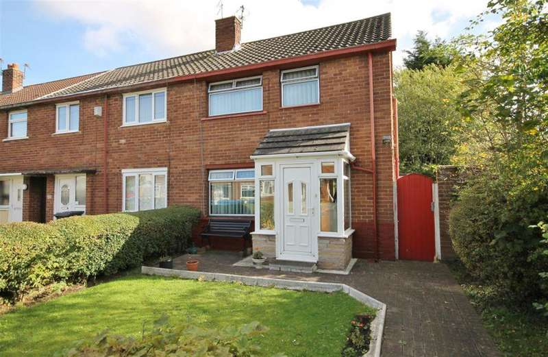 2 Bedrooms Town House for sale in Andrew Close, Widnes, WA8 8AP