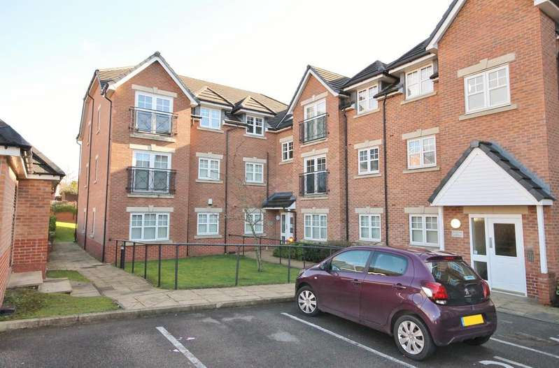 2 Bedrooms Apartment Flat for sale in College Fields, Cronton Lane, Widnes, WA8 5AR