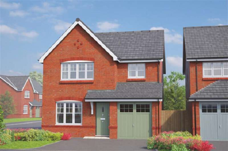 3 Bedrooms Detached House for sale in The Kingston, Erddig Place, Wrexham, LL11