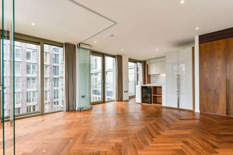 1 Bedroom Flat for sale in Capital Building, Embassy Gardens, Nine Elms