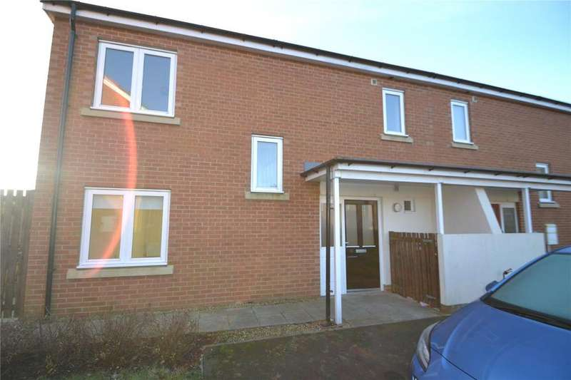 3 Bedrooms End Of Terrace House for sale in Brandlings Court, Shotton Colliery, Co.Durham, DH6