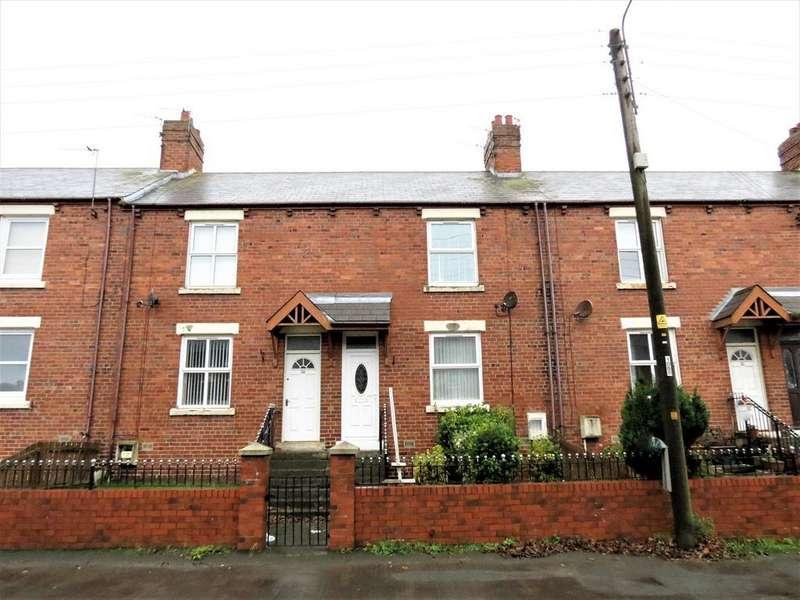 2 Bedrooms Terraced House for sale in Station Road, Easington Colliery, County Durham, SR8 3SD
