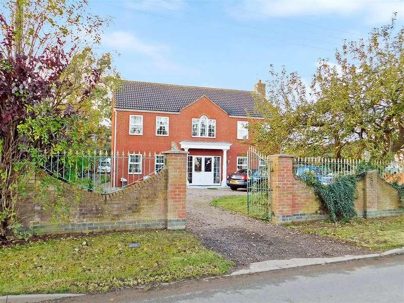 4 Bedrooms Detached House for sale in Wainfleet Road, Burgh Le Marsh, Skegness, PE24 5AH