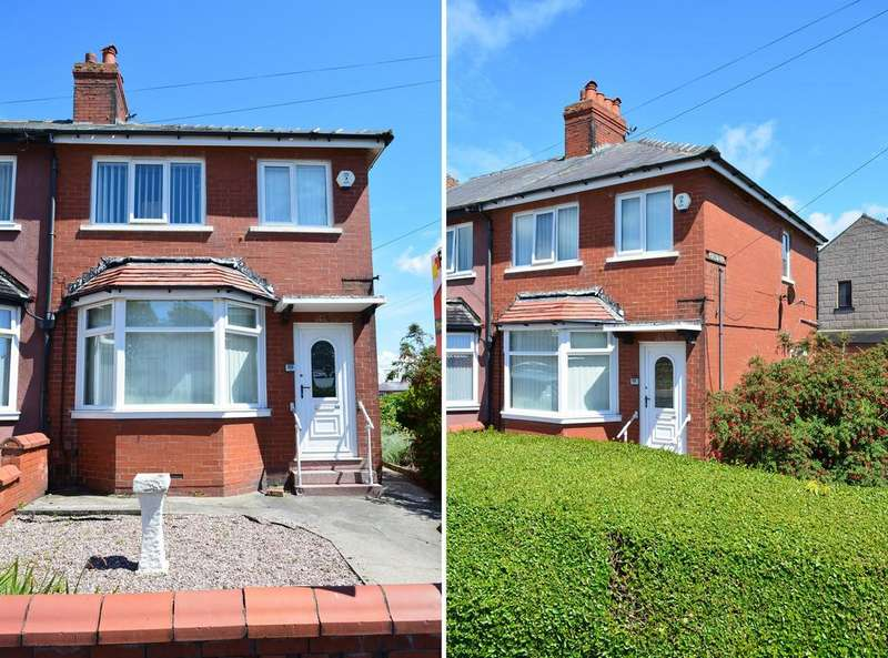 3 Bedrooms Semi Detached House for sale in Annesley Avenue, Layton, Blackpool, FY3 7HX