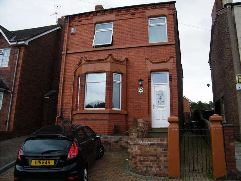 4 Bedrooms Detached House for sale in Leach Lane, Sutton Leach, ST HELENS, Merseyside