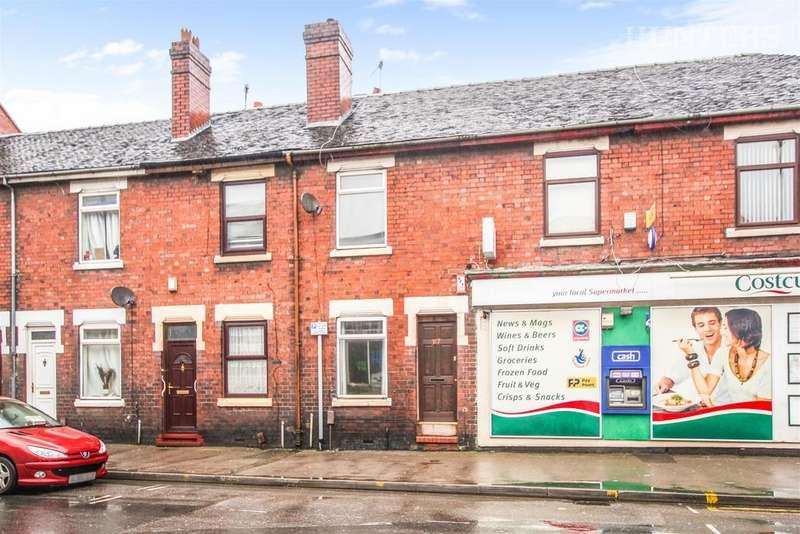2 Bedrooms Terraced House for sale in King Street, Fenton, Stoke On Trent, ST4 3EJ