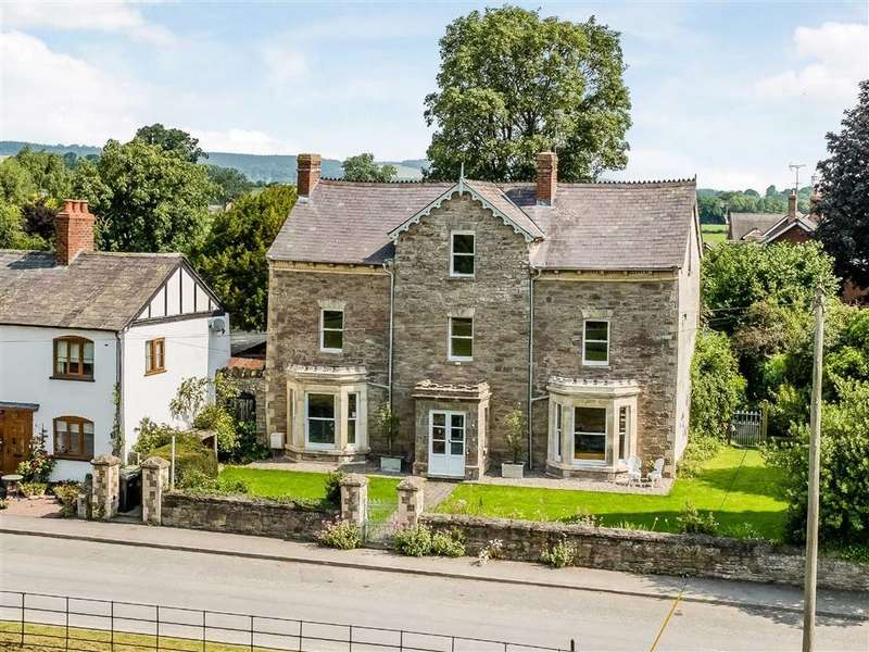 6 Bedrooms Detached House for sale in Stoneleigh, Kingsland, Herefordshire, HR6
