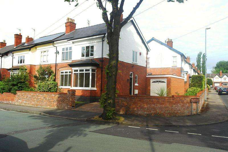 4 Bedrooms Semi Detached House for sale in Princes Avenue, Walsall